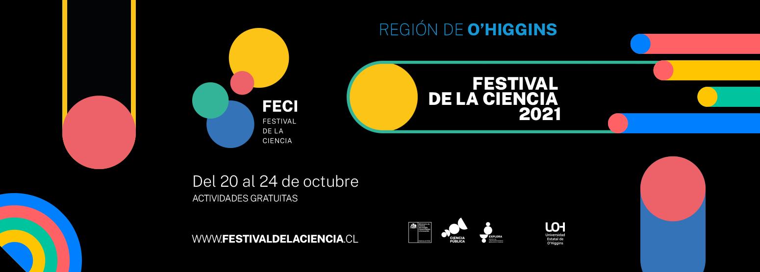 Entre el 20 y el 24 de octubre se realizará el Festival de las Ciencias 2021. ¡Acompáñanos!